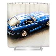 Dodge Viper Gts Shower Curtain