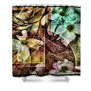 Dogwood Abstract Shower Curtain