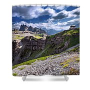 Dolomites Shower Curtain
