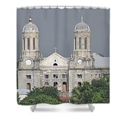 Domed Towers Shower Curtain
