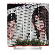 Donnie And Marie 2 Shower Curtain