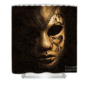 Dont Be Evil Said The Masked Villain Shower Curtain