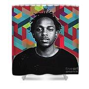 Don't Kill My Vibe Kendrick Shower Curtain