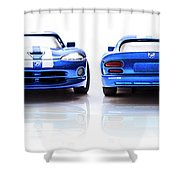 Double The Sting Shower Curtain