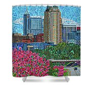 Downtown Raleigh Shower Curtain