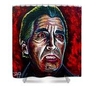 Dracula Lee  Shower Curtain