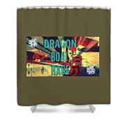 Dragon Boat Race Shower Curtain