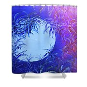 Dream By The Tropical Moon Shower Curtain