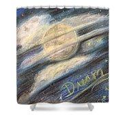 Dream Moon Shower Curtain