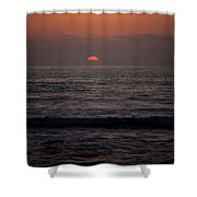 Dreamcicle Sunset Shower Curtain