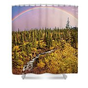 Dreams Come True With Text Shower Curtain