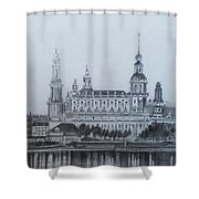 Dresden Cathedral- Dresden Shower Curtain