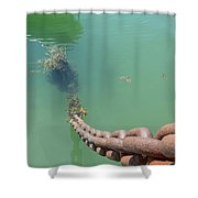 Drop The Anchor Shower Curtain