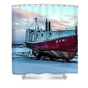 017 - Dry Dock Shower Curtain