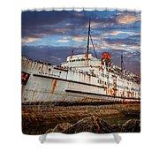 Duke Of Lancaster Ship Shower Curtain