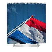 Dutch Flag Shower Curtain