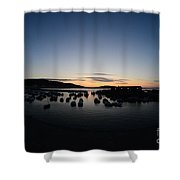 Early Morning Lyme Regis Shower Curtain