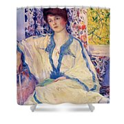 Early Morning Summertime 1920 Shower Curtain