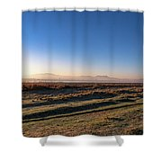 Early Morning Sunrise In Clarens Shower Curtain