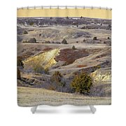 Early Spring Prairie Reverie Shower Curtain