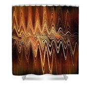 Earth Frequency Shower Curtain