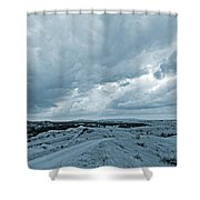 East Of The Little Missouri Shower Curtain