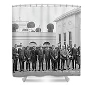 Edison Prize Winners At The White Shower Curtain