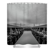 Edmonds Marina Shower Curtain
