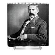 Edward Elgar Studio Portrait Shower Curtain