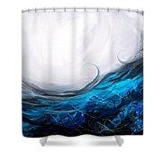 Effectual Momentum Shower Curtain