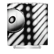 Einstein Rosen Bridge Shower Curtain