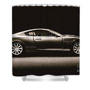 Elegant Darkness Shower Curtain