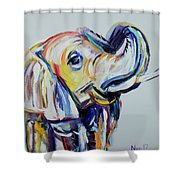 Elephant Tusk Shower Curtain