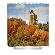 Elevator Top Shower Curtain