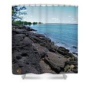 Embley River 2 Shower Curtain
