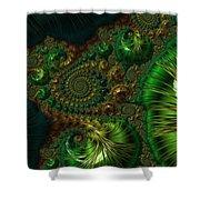 Emerald City. Shower Curtain