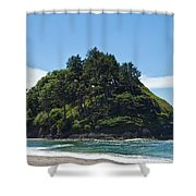 Emerald Isle Shower Curtain