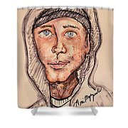 Eminem  Marshall Mathers Shower Curtain