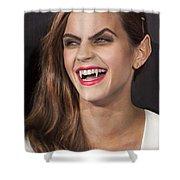 Emma Watson Hair Shower Curtain