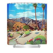 Enchanted Desert Shower Curtain