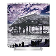 End Of The Pier Show Shower Curtain