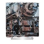 Engine #25 Shower Curtain