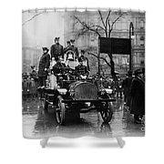 Engine 91 Fdny 1910 Shower Curtain