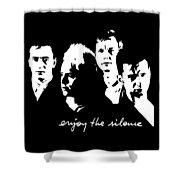 Enjoy The Silence Shower Curtain