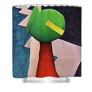 Entry Point Shower Curtain