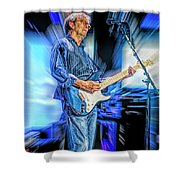 Eric Clapton Slowhand Shower Curtain