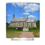 Escot Church Shower Curtain