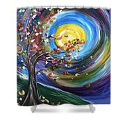 Essence Of Fall Shower Curtain