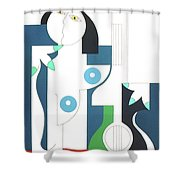 Etude Shower Curtain