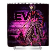 EV Shower Curtain
